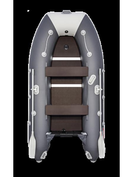 Надувная лодка ПВХ Таймень lx 3200 СК Графит/светло-серый