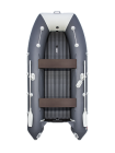 Надувная лодка ПВХ Таймень lx 3600 НДНД Графит/светло-серый