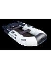 """Надувная лодка ПВХ Таймень NX 270 С """"Комби"""" светло-серый/черный"""