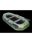 Надувная лодка ПВХ Таймень NX 270 С зеленый