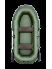 Надувная лодка ПВХ Таймень NX-270 зеленая