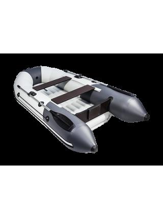 "Надувная лодка ПВХ Таймень NX 2800 НДНД ""Комби"" светло-серый/графит"