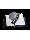 Надувная лодка ПВХ Таймень NX 2850 Слань-книжка киль Графит/черный