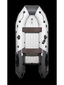 "Надувная лодка ПВХ Таймень nx 3200 НДНД ""Комби"" светло-серый/графит"