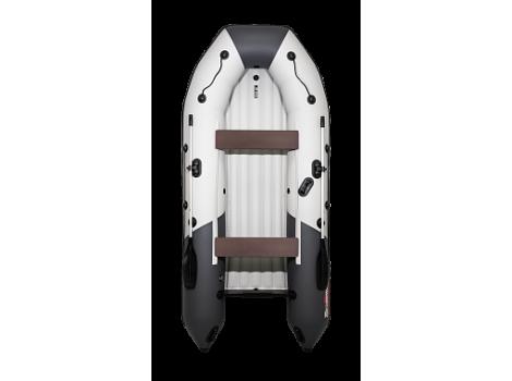"Надувная лодка ПВХ Таймень NX 3400 НДНД ""Комби"" светло-серый/графит"