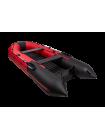 Надувная лодка ПВХ Таймень nx 4000 НДНД pro красный/черный