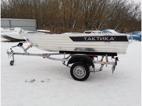 Алюминиевая лодка Тактика-390РM Fish