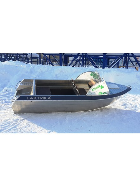 Алюминиевая лодка Тактика 390