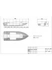 Алюминиевая моторная лодка Тактика 390 Р