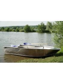 Алюминиевая моторная лодка Тактика-390 Р