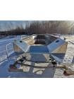 Алюминиевая моторная лодка Тактика-390 Р(выс.борт)