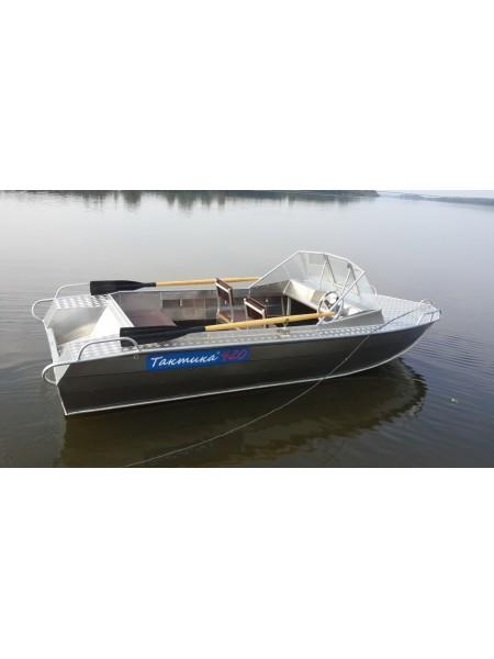 Алюминиевая лодка Тактика 420