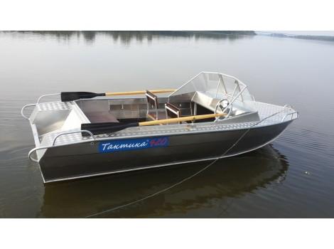 Алюминиевая лодка Тактика-420