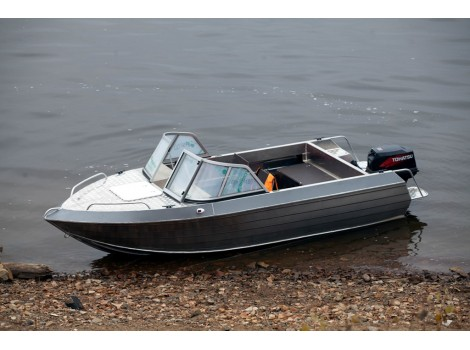 Алюминиевая лодка Тактика-430