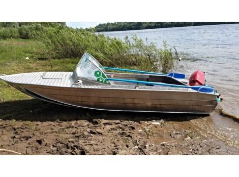 Алюминиевая лодка Тактика-450