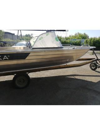 Алюминиевая лодка Тактика-450 DC