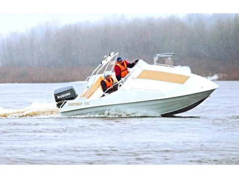 Алюминиевая лодка Тактика 600 cruise