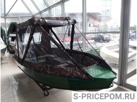 Тент на лодку 380  Апаче