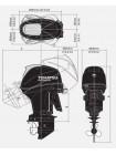 Лодочный мотор Tohatsu MFS 60 EТL