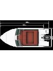 Алюминиевая лодка REALCRAFT-510