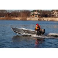Алюминиевая лодка REALCRAFT 370