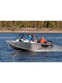 Алюминиевая лодка Салют 430 Pro JET