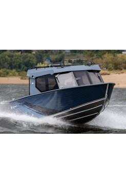 Алюминиевая лодка REALCRAFT-600 CABIN