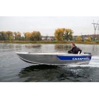 Алюминиевая лодка Салют 430 румпель