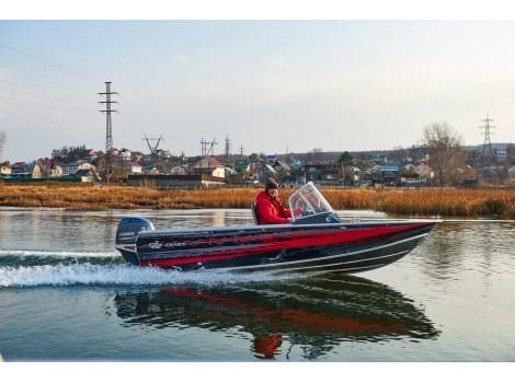 Алюминиевая лодка Салют 460