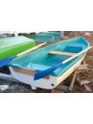 Стеклопластиковая лодка Тортилла-4 Бело-бирюзовая
