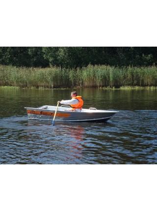 Алюминиевая лодка Wellboat 37 next
