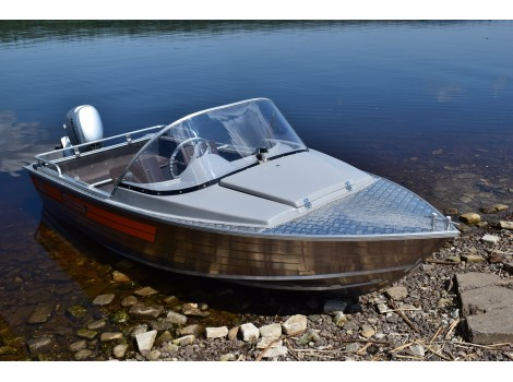 Алюминиевая лодка Wellboat-42 NexT Классика