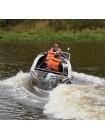 Алюминиевая лодка Wellboat-42 NexT консоль