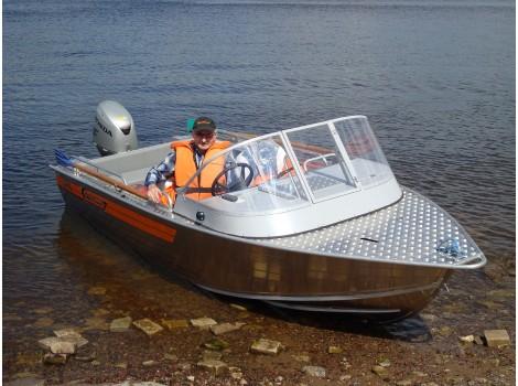 Алюминиевая лодка Wellboat-45i