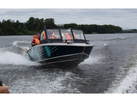 Алюминиевая лодка Wellboat-48