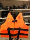 Жилет спасательный MEDNOVTEX взрослых до 150 кг оранжевый