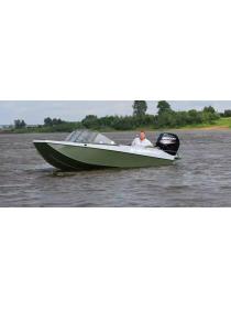 Алюминиевая лодка Heман-500DC водомёт