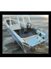 Алюминиевая лодка Wyatboat 390У С КОНСОЛЯМИ
