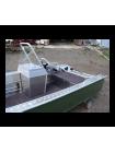 Алюминиевая лодка Wyatboat 390У С КОНСОЛЬЮ