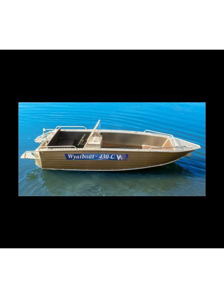 Алюминиевая лодка Wyatboat-430С