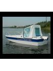 Стеклопластиковая лодка Wyatboat-430DCM ТРИМАРАН