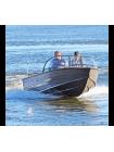 Алюминиевая лодка Wyatboat-460T PRO TRANSFORMER