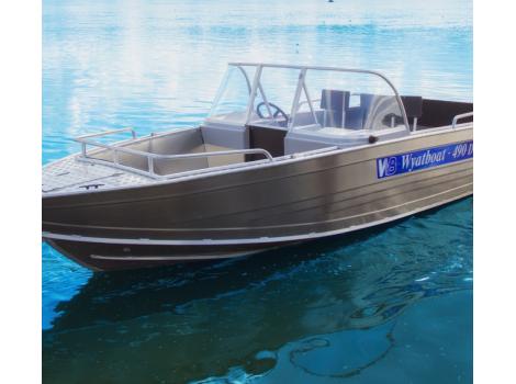 Алюминиевая лодка Wyatboat-490T DCM TRANSFORMER