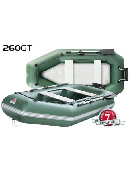 Надувная лодка ПВХ Yukona 260 GT