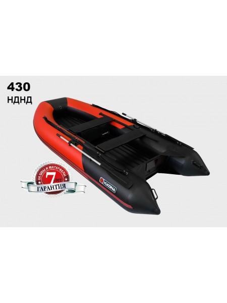 Лодка надувная ПВХ YUKONA 430 НДНД